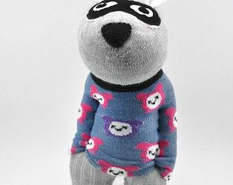 waldorf und statler muppet socke tiere muppets alte von sockart. Black Bedroom Furniture Sets. Home Design Ideas
