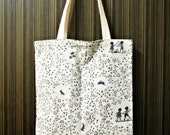 Les Enfants du Ciel • Handcrafted Tote Bag • Natural Cotton + Linen • Daily Essentials • ATELIER Totes