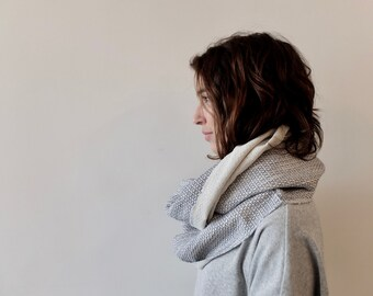 Infinity Scarf, Blue And White Scarf, Fashion Scarves, Linen Scarf, Blue Scarf, Womens Scarves, Scarves And Wraps, Unique Scarves