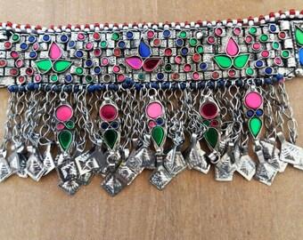 Choker / kuchi choker / tribal fusion bellydance / Choker / boho / necklaces boho / tribal necklace / necklace tribal / bohemian / ethnic