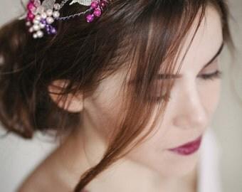 Wedding Hair Vine, Wedding wreath, Bridal Head Piece, Bridal Hair Accessory, Hair Accessories, bridal hair wrap, wedding hair lace