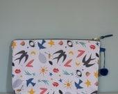 """Pochette collection """"Baby Love"""" , cadeau de Noël, pochette femme, chrismas gift"""