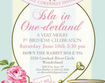 One-derland Invitation