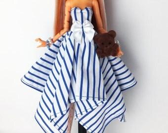 Lil Ms. Ginger-Cakes - OOAK Custom Toralei Stripe Monster High Doll