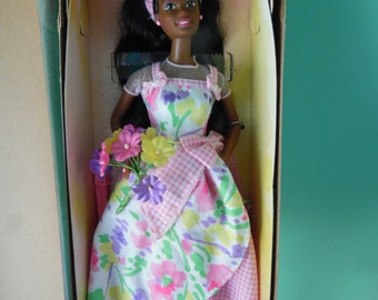 Spring Petals Barbie Doll African American