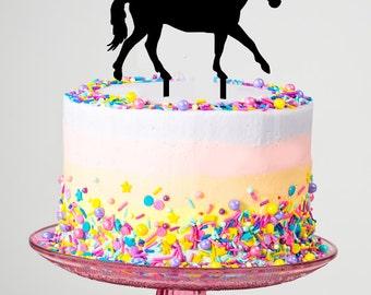 Handmade Horse Cake Topper