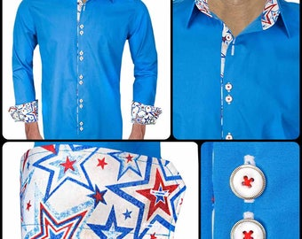 Men's Dress Shirts for Memorial Day  - Made To Order in USA