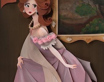 Portrait of a Lady Print