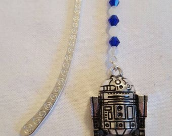 Star wars inspired R2D2 bookmark