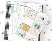 Nature Deluxe Weekly Planner Kit | 270 Stickers | Planner Stickers | For Erin Condren LifePlanner