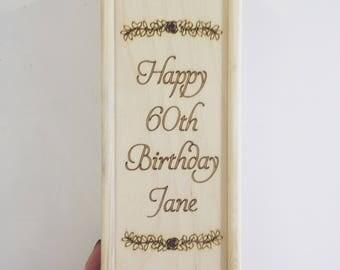Gepersonaliseerde dranken vak bruiloft verjaardag geschenk, gift van de verjaardag, gepersonaliseerd cadeau, gepersonaliseerde verjaardag, gepersonaliseerd cadeau