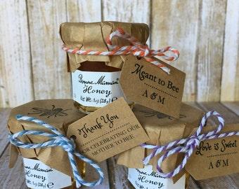 8 ~ Honey Jar favors, Wedding honey favors