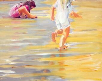 Original Painting, Contemporary Art Landscape Painting, Ocean Art, Sea Wall Art, Sea Painting, Painting Landscapes, Seascape Painting
