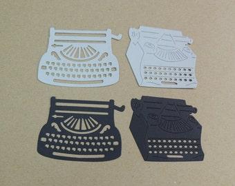 Typewriter Die Cuts