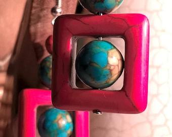 Red & Blue Magnesite