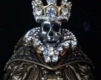 Game of Thrones Jewelry | Skull Jewelry | Skull Cuff | Gothic Jewelry