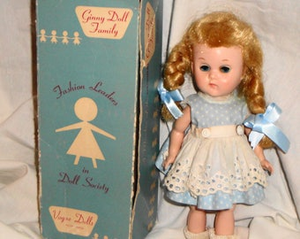 Vogue 1962 Ginny Doll in Original Outfit and Box