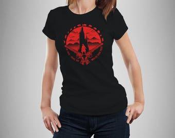"Stephen King's Dark Tower Inspired ""Other Worlds"" Women's T-Shirt"
