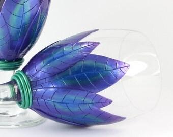 Fantasy Goblet, Purple Goblet, Medieval Goblets, Wedding Goblet, Unique Goblets, Unique Chalice, Purple chalice, Wedding Chalice