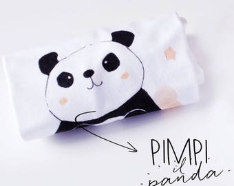 PANDA | Personalized T-shirt or onesie gift idea with packaging