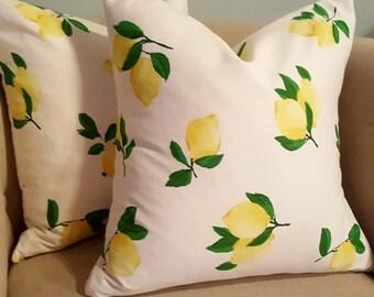 Lemonade Pillow