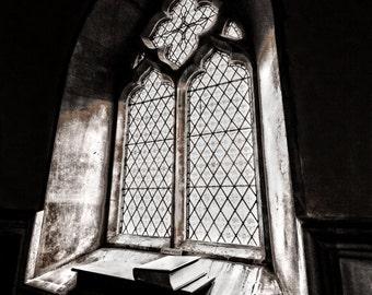 "Church window photographic print 12 x 8 """