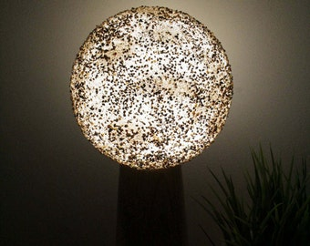 Handmade Night Lamp for Home Decor - Unknown Planet, Table lamp Planet, Lamp planet