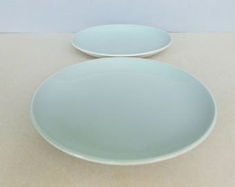 Dutch Vintage Set of 2 Lunch / Breakfast Plate by Royal Goedewaagen Gouda Service Series 1178 / 1303 Designed by L. de Boer