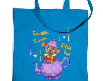 Twinkle Twinkle Dormouse tote bag