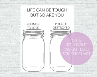 Weight loss tracker printable weight loss tracker weight