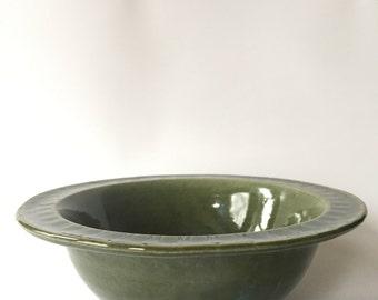 Medium Green Bowl