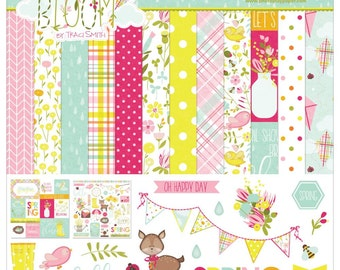 Bloom Collection Pack by Photo Play Paper, Photo Play Bloom Collection