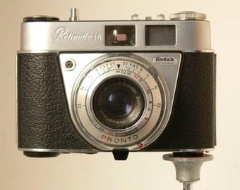 Vintage Kodak Retinette 1a 35mm Camera 1950's - With Extra Filter & Leather Wraparound Case
