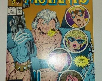 Vintage 1990 Comic book, New Mutants #87 (2nd printing)
