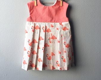 Cream baby dress