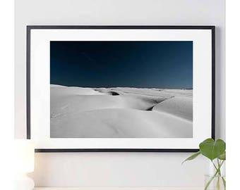 Pismo Beach White Sand Dunes | white sand photo | nature photography | photo print | wall art | home decor | california | 11 sizes