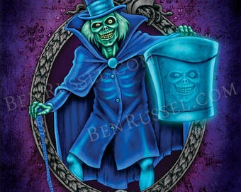 Hatbox Ghost, 11x14 Print