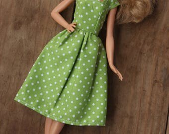 Barbie Dress, Barbie Clothes, 11.5 inch doll clothes