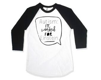 Kids Graphic Shirt, Kids Autism Shirt, Sibling Autism Shirt, Baseball Sleeve Raglan Shirt, Hipster Kids Shirt, Children's Autism Shirt