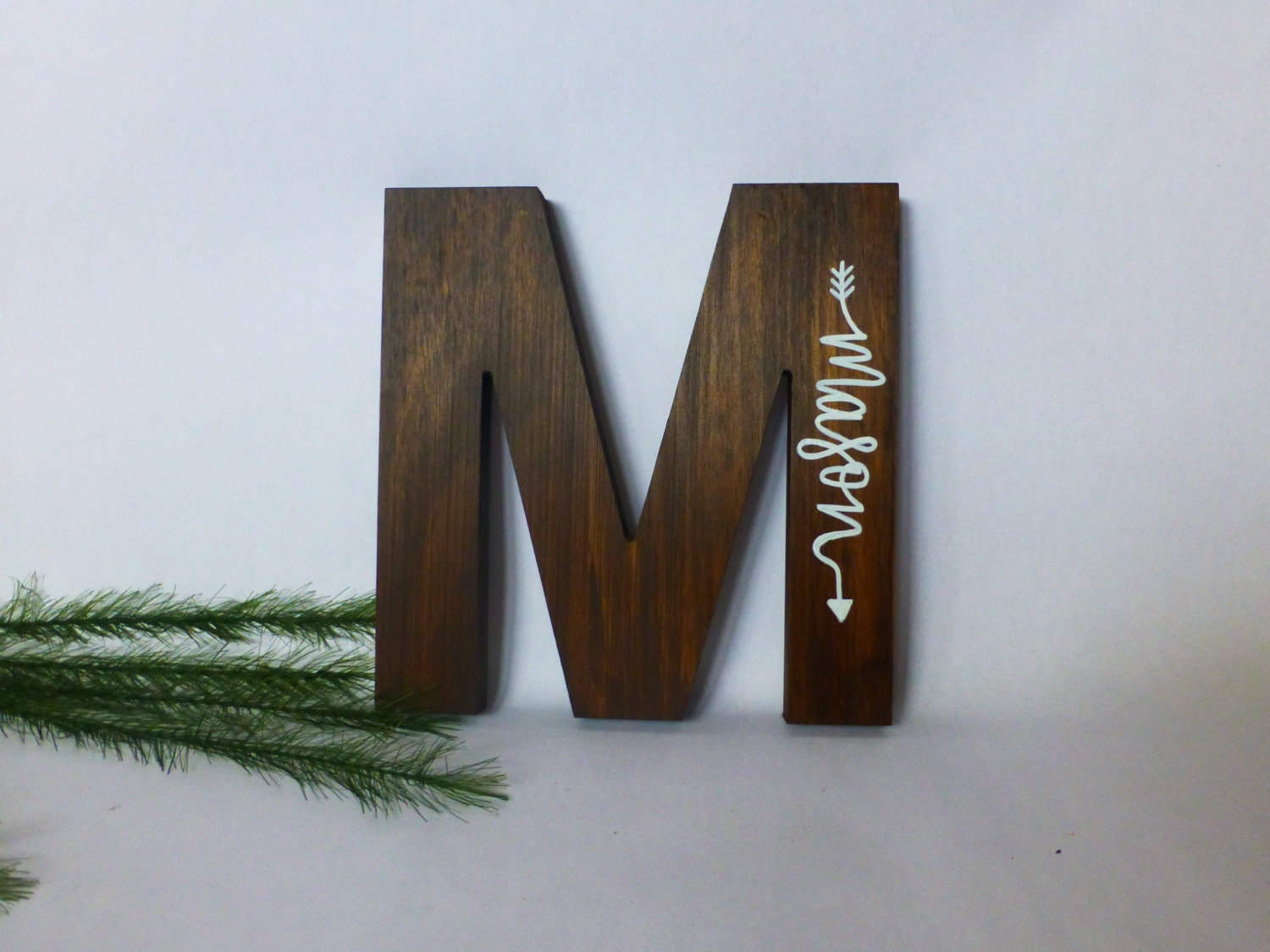 wood letters for wall wood initial sign painted name wooden by 25668