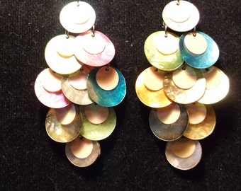 Shell Chandelier Earrings