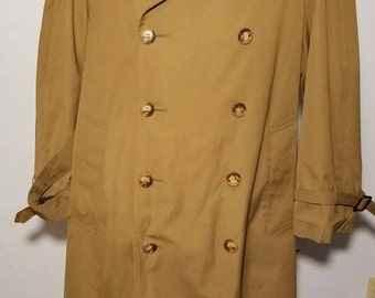 Christian Dior Monsieur Trench Coat Size 40S