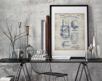 PATENT 1939 Photographic Camera Print,Camera Patent,Camera Deco,Camera Blueprint,Camera Print,Camera Poster,Camera Art, Patent prints #P126