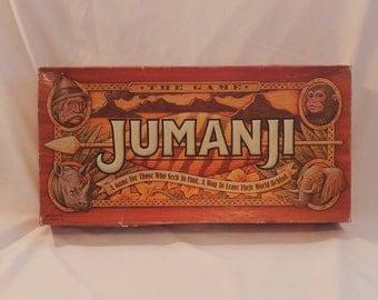 1995 Milton Bradley Jumanji Movie Board Game (INCOMPLETE)