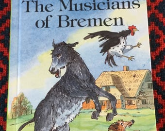 Vintage Ladybird Book- The Musicians of Bremen