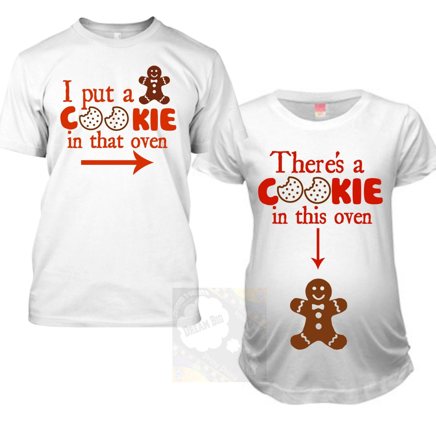 Matching Christmas Pregnancy Announcement Shirts Christmas