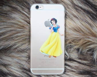 HOT SALE!!!!! Snow white iPhone 6 6s Cover Case, Disney iPhone 6 case, Cute iPhone Case, Disney Phone Case, Hard Plastic Case. Handmade Gift