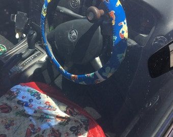 Custom Steering Wheel Cover