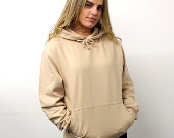 Save The People, womens hoodie, sand hoodie, oversized hoodie,womens clothing, layering, winter fashion, NUDE Hoodie,