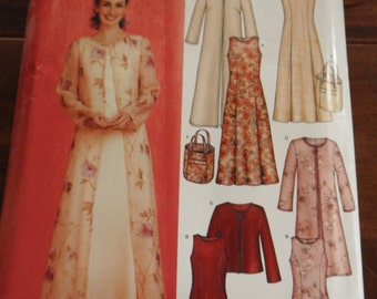 New Look 6270 Women's Elegant Dress And Coat Outfits Sewing Pattern